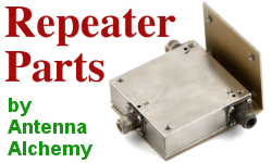 Antenna and repeater parts