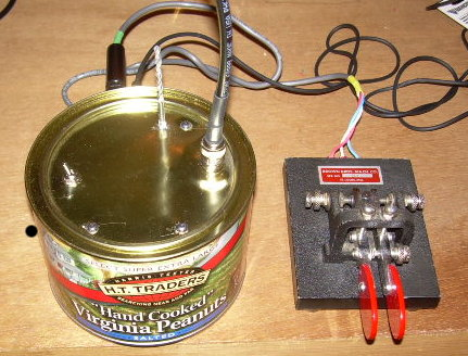 QRP in a Peanut Can - Batteries Included