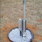 Installing a Vertical Antenna Base with no Concrete
