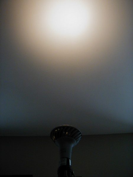 Beam Pattern of GE LED Lamp