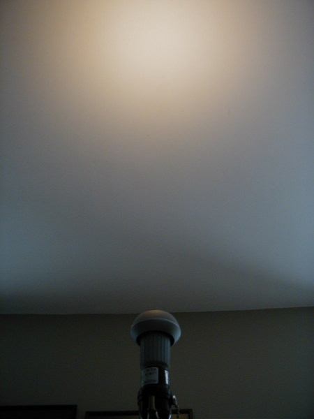 Beam Pattern of Philips LED Lamp