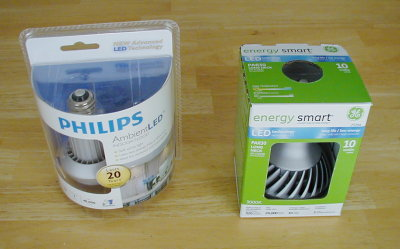 Phillips and GE LED Light