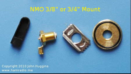 "Unknown manufacturer NMO Mount for 3/8"" or 3/4"" Hole"