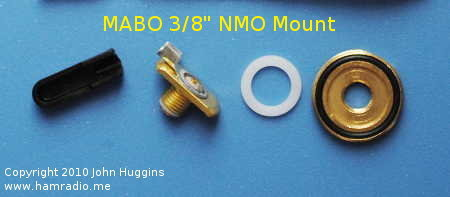 "Laird Brand NMO Mount for 3/8"" Hole"