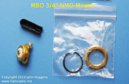 "Laird Brand NMO Mount for 3/4"" Hole"