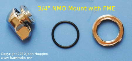 "Possible Motorola Brand NMO Mount for 3/4"" Hole with FME Connector"
