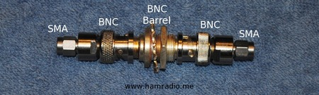 Figure 3 - Adapters for BNC Connector Test