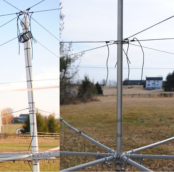 Traditional vs. Metal Hex Beam Mast