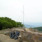 Backpacks, seat, Kenwood, SLA battery, VHF and UHF antennas used for Station 6 ATGP 2011