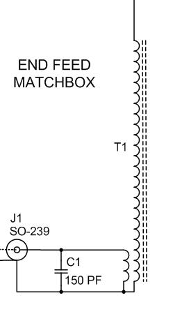 Schematic of LNR Precision 10/20/40 Portable Antenna Matchbox
