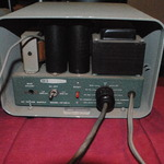 Rear panel of Heathkil HP-23-A Power Supply with Speaker