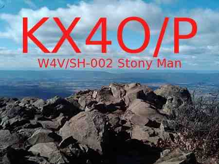 Prototype QSL Card for KX4O/P