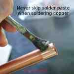 Solder paste makes soldering very easy.