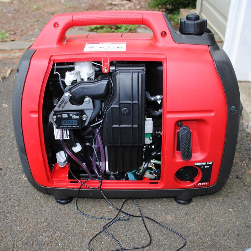 TT2A & tac-brac® on Honda EU2000 generator