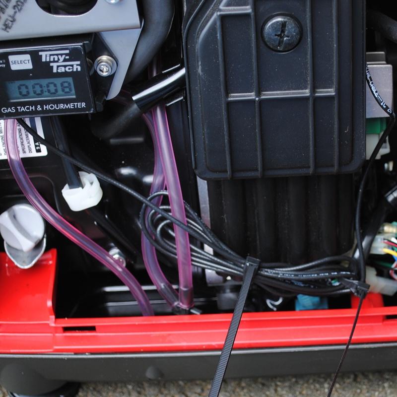 Tiny-Tach sensor cable inside Honda EU2000