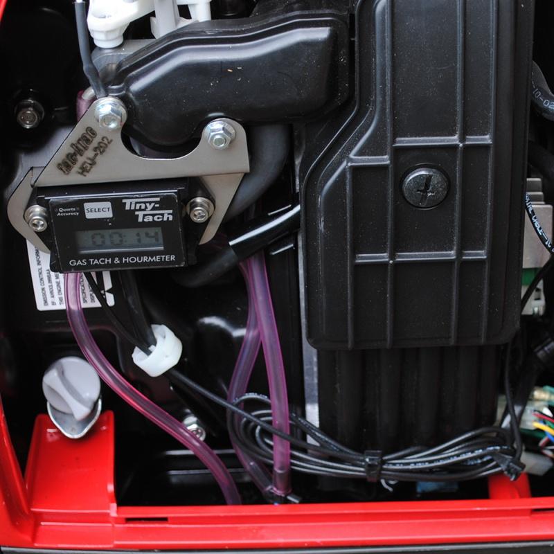 Honda Hour Meter : Honda eu with tac brac and tiny tach tt a