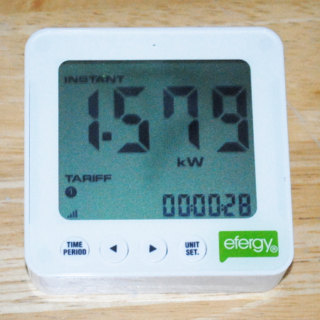 Efergy E2 Power Monitor Display