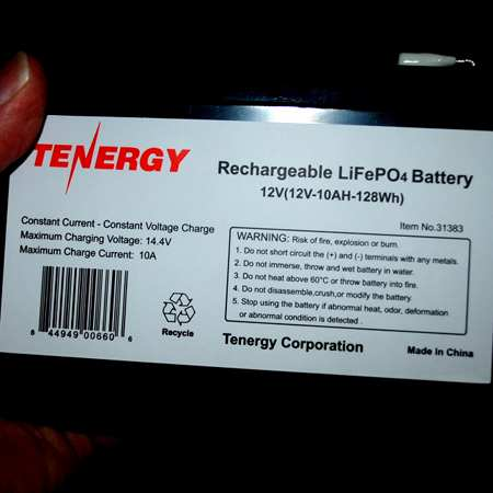 Well what do you know, this is really a 10 AH battery even though a 7AH was ordered.