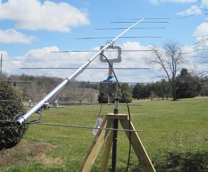 Figure 1 - M2 2M8SSB Yagi-Uda Antenna