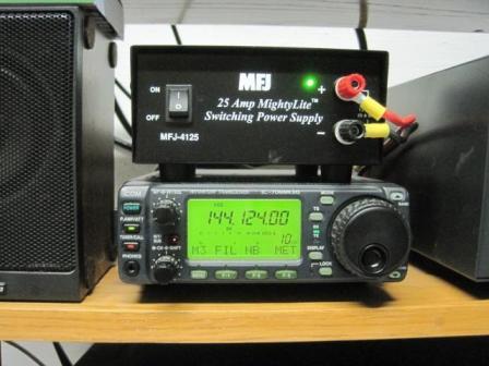 Figure 3 - Radio * power supply