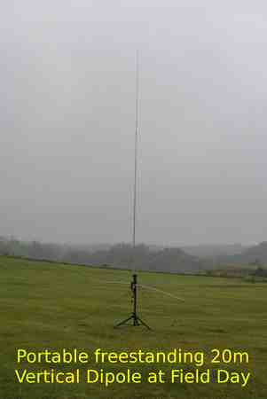 Field Day test the Portable HF Antenna