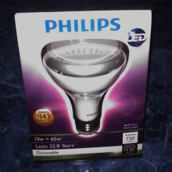 Phillips BR30 LED Flood Lamp