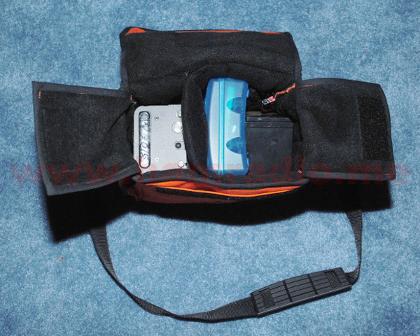 KX3 Bag with Transceiver, Battery and Accessories