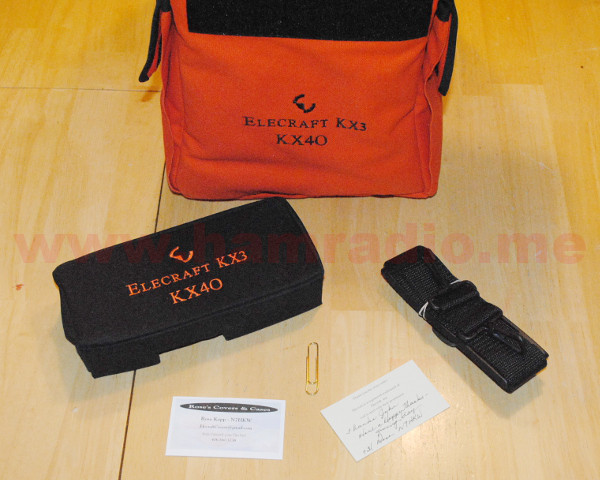 KX3 Case, Cover and Strap