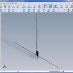 3D Model for AHVD Antenna