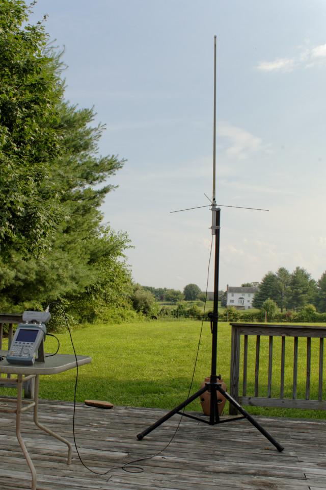 Diamond X50 Antenna Measurements