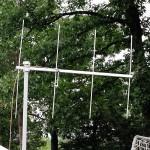 Arrow Antennas 2m beam set to access the FARA7 packet node for NTS packet radio bonus points.