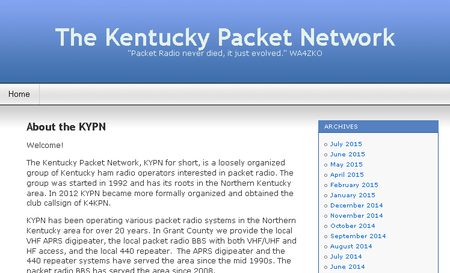 "KYPN - ""Packet Radio never died, it just evolved"""