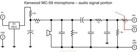 Kenwood MC-59 Audio Signal Flow