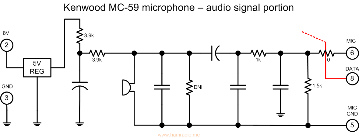Noisy Kenwood Tmd710a Microphonerhhamradiome: Mics For Kenwood Mc 43s Wiring Diagram At Elf-jo.com