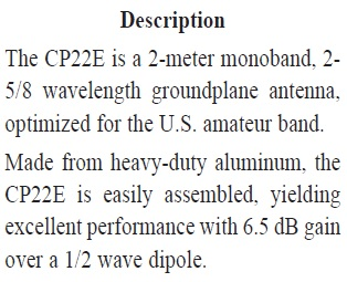 Diamond CP22E description