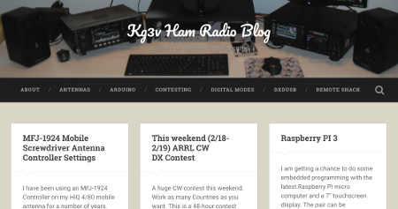 KG3V Blog
