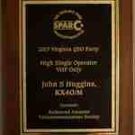 VQP VHF (and up) award