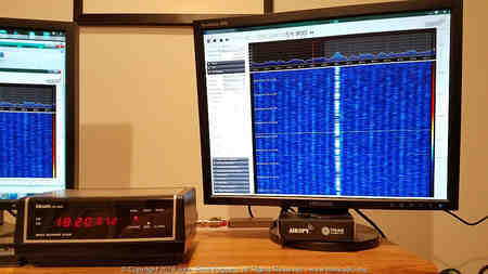 Airspy HF+ and SDR# demodulating WWVB