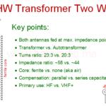 EFHW transformer two ways