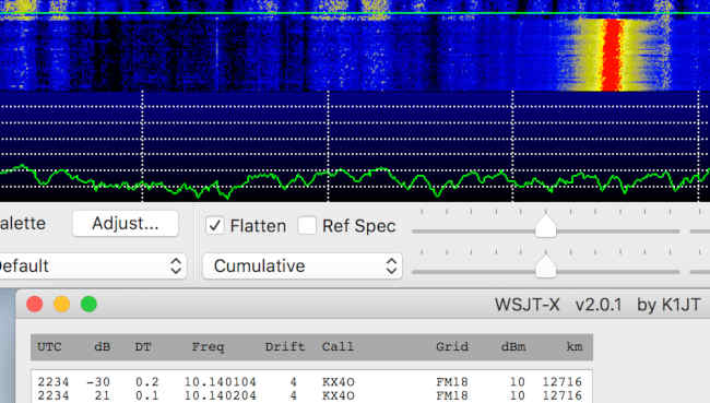 Raspberry Pi Zero transmitting WSPR