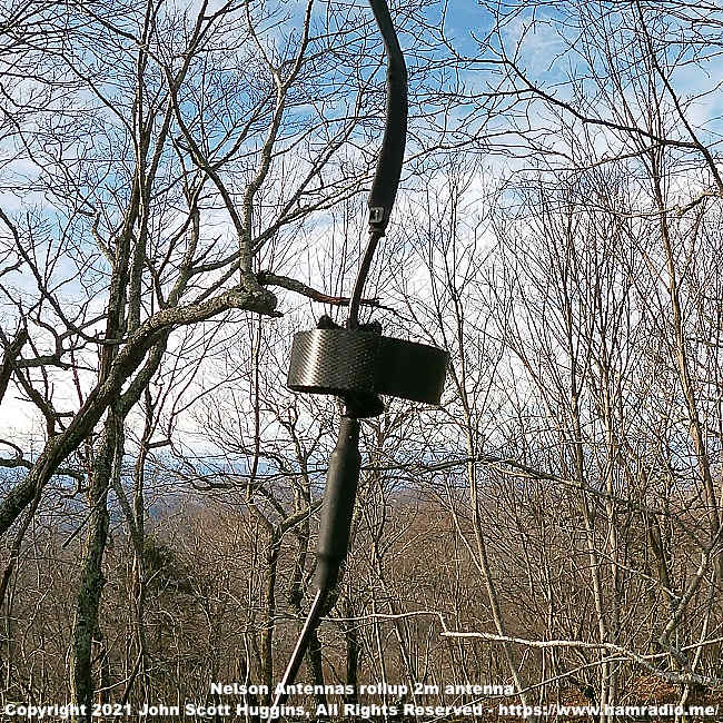 Nelson Antennas rollup 2m antenna